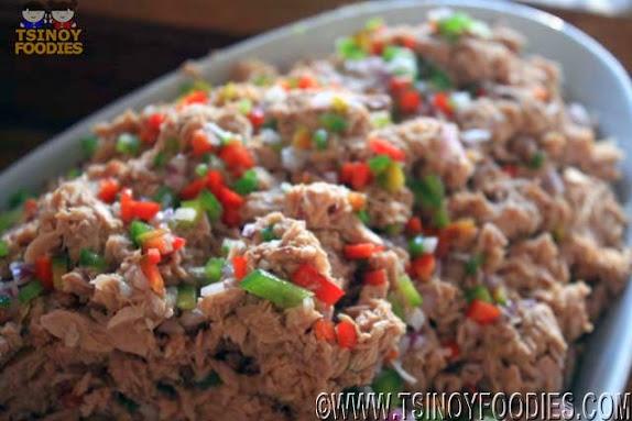 tuna flakes