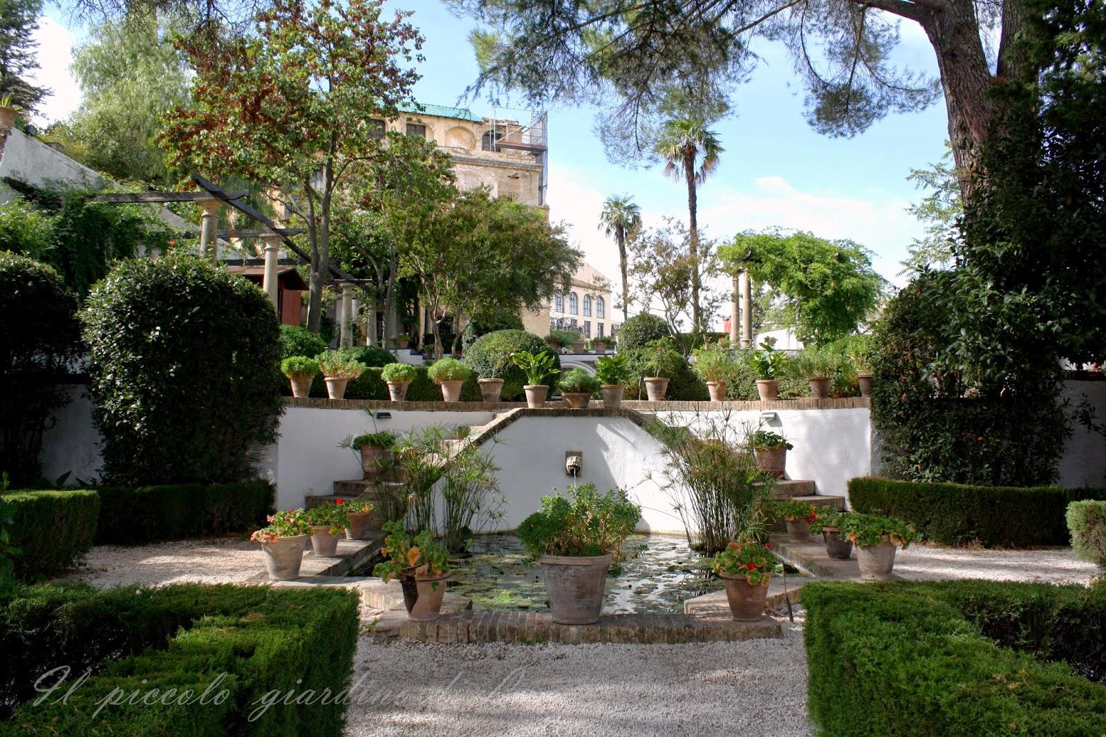 Il piccolo giardino di l giardini storici andalusi for Giardini pensili
