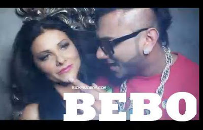 BEBO Lyrics - ALFAAZ ft. HONEY SINGH Music Video