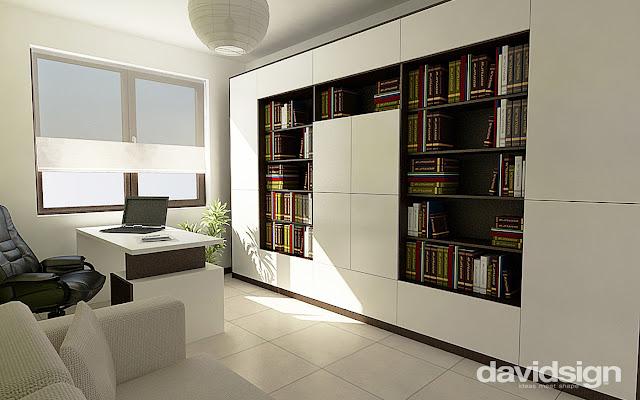 design interior birou acasa