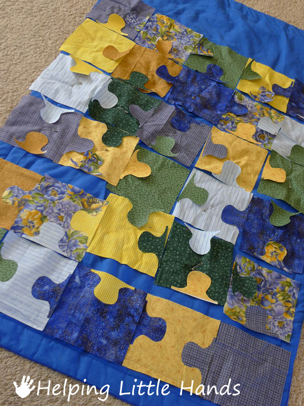 Pieces By Polly Blogger S Quilt Festival Entry Jigsaw
