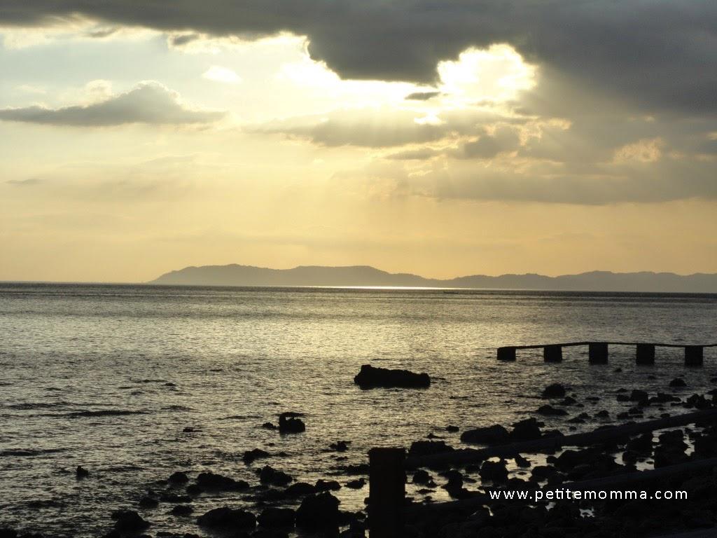 anilao batangas sunset