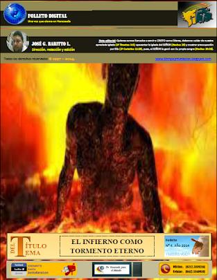 EL INFIERNO COMO TORMENTO ETERNO