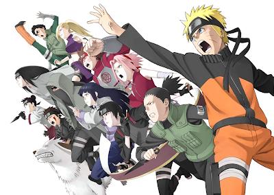 anime accion manga ninjas