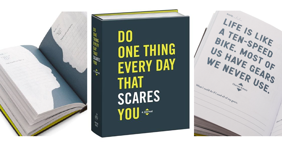Ma Bicyclette: Positive Thinking | Top 4 Positive & Inspiring Journals - Do One Thing Every Day That Scares You