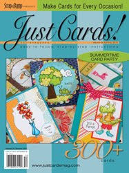 I've been published Just Cards Summer 2015