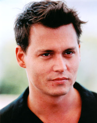 JOHNNY DEPP HAIRSTYLES - SHORT SPIKY HAIRCUT