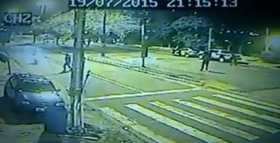 Απίστευτο: Δείτε πως η στρατιωτική αστυνομία στη Βραζιλία σταματά για έλεγχο ένα μοτοσικλετιστή [Βίντεο]