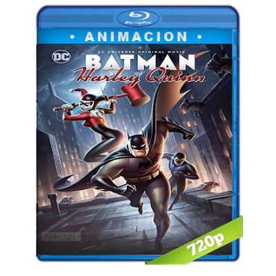 Batman Y Harley Quinn (2017) BRRip 720p Audio Trial Latino-Castellano-Ingles 5.1