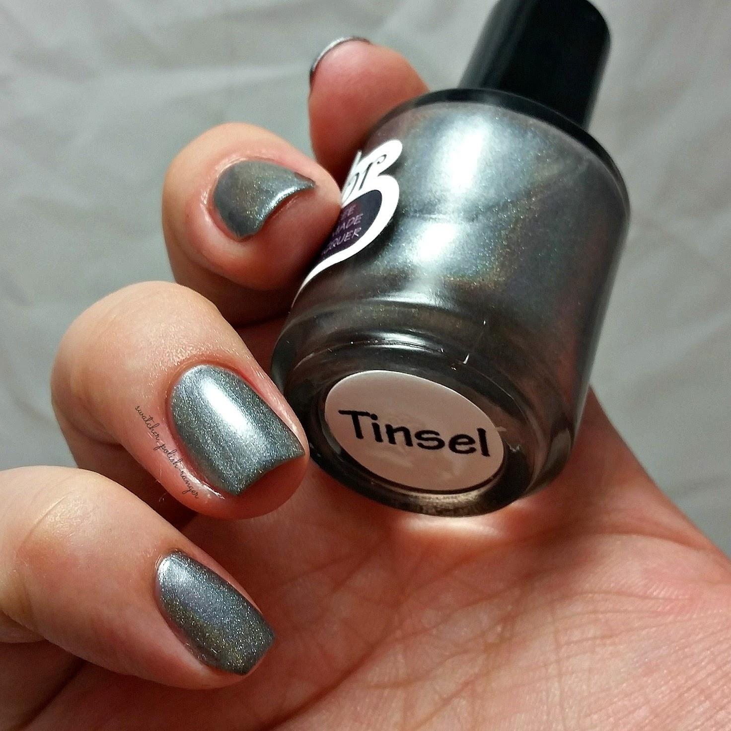 swatcher, polish-ranger | Splendor Nail Lacquer Tinsel swatch