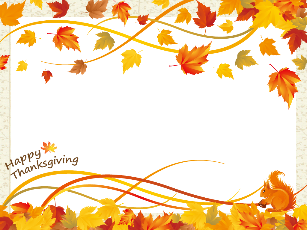 Thanksgiving borders
