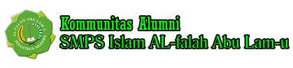 Komunitas Alumni SMPS Islam Al-falah Abu lam-u