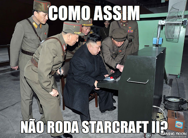 Kim Jong-Un Frustrado Com Os Computadores Norte Coreanos