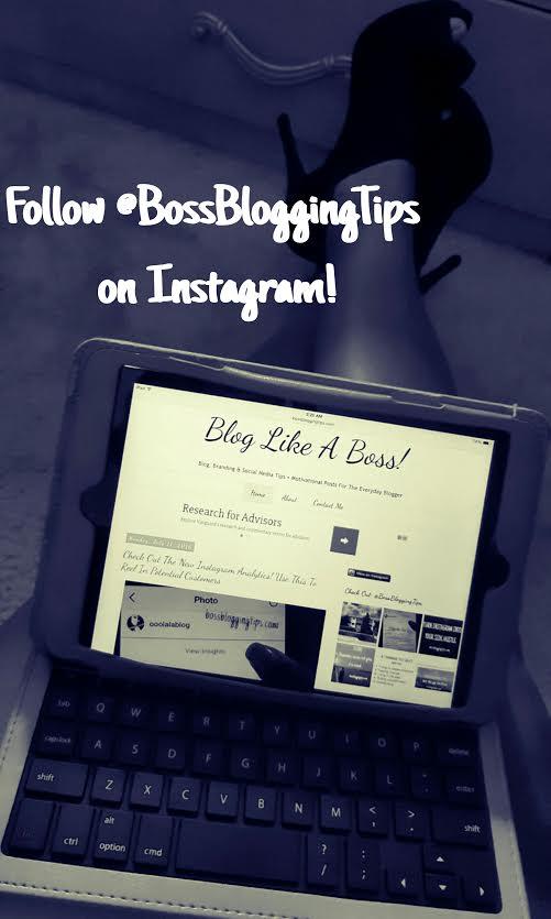 #BossBloggingTips