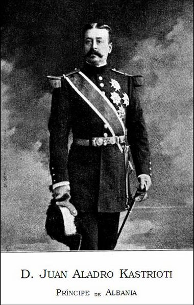 D.Juan Pedro Aladro Kastrioti