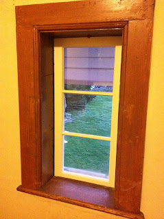 restored wood window