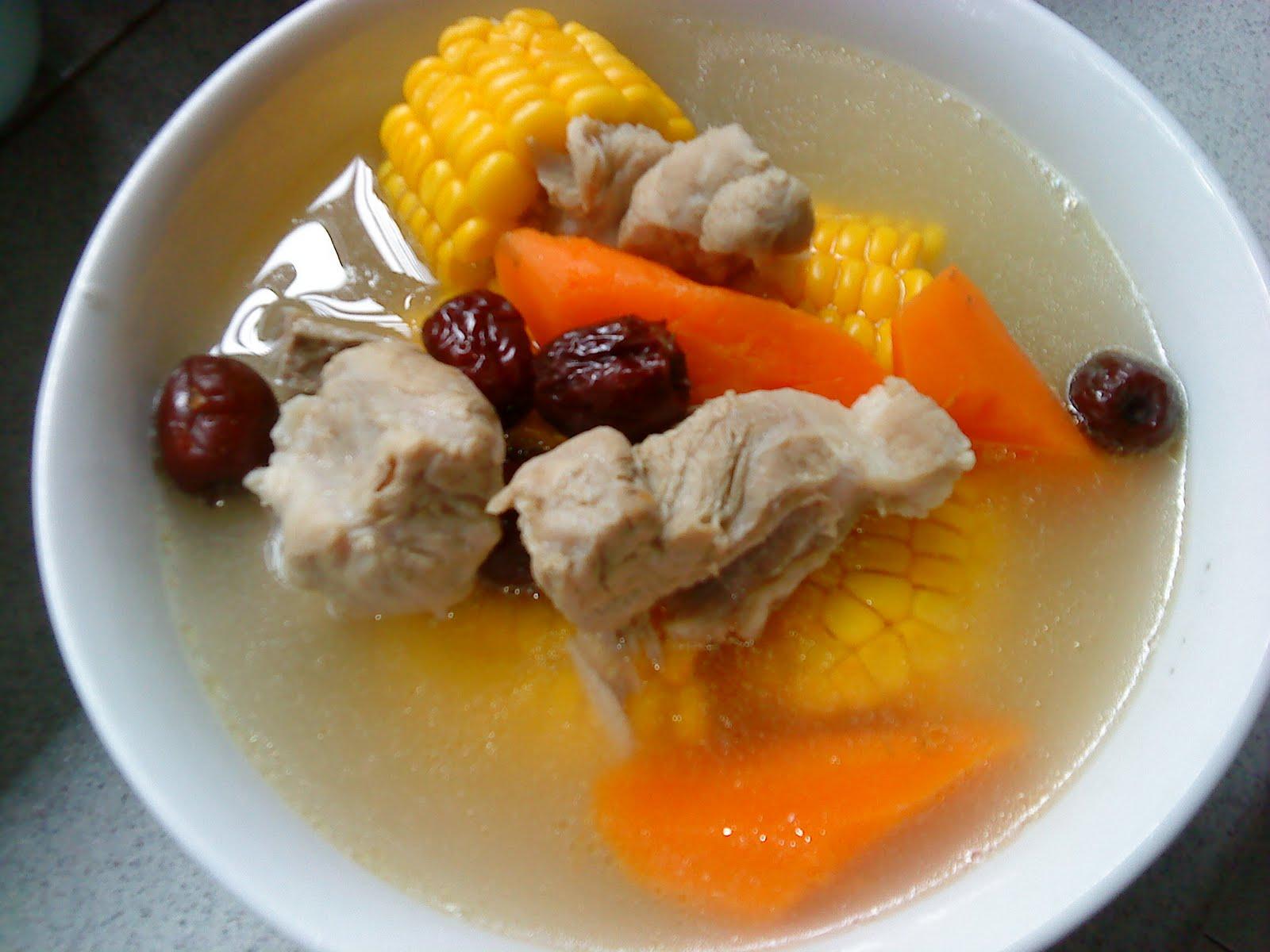 Pork rib peanut soup recipe