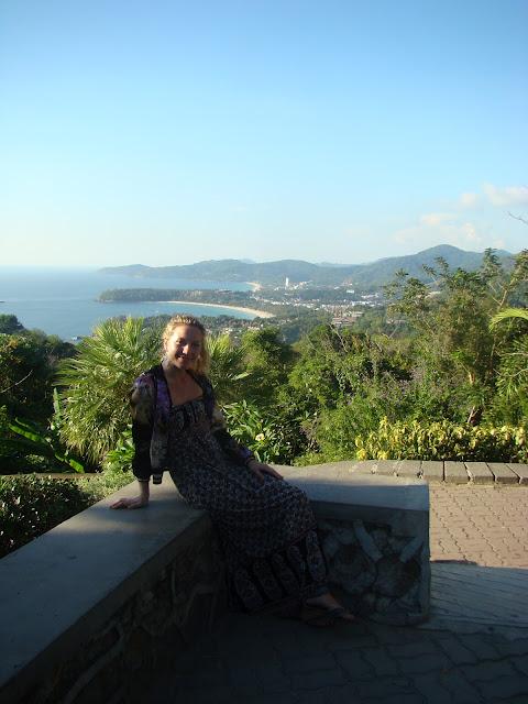 Смотровая площадка на о. Пхукет - Viewpoint on the Phuket island.