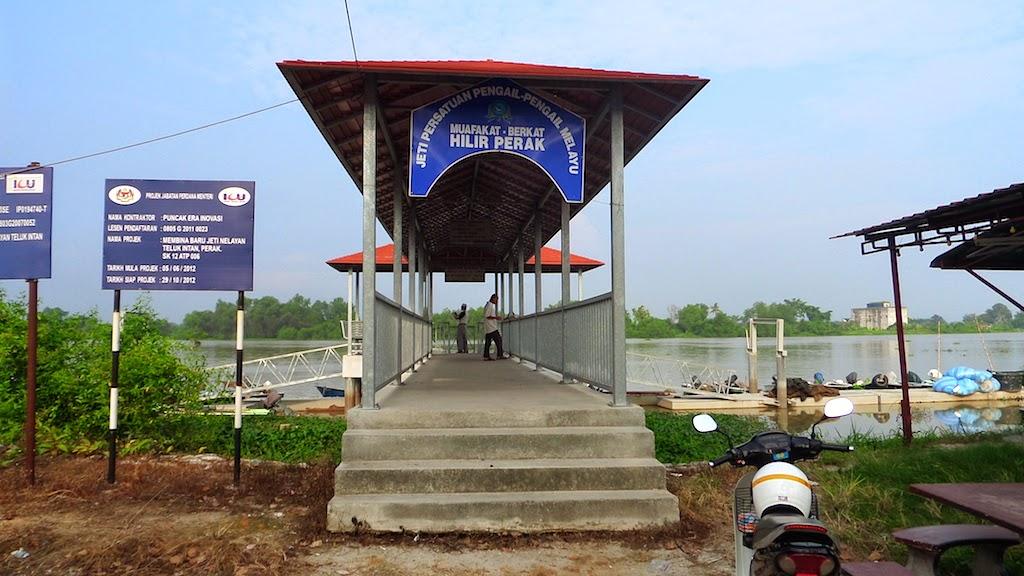 Memancing Udang Sungai Perak