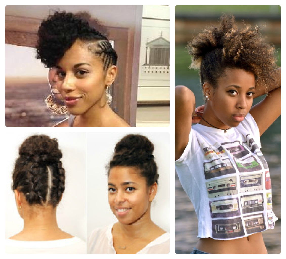 Medium Length Natural Hair Style Inspiration: Summer Edition