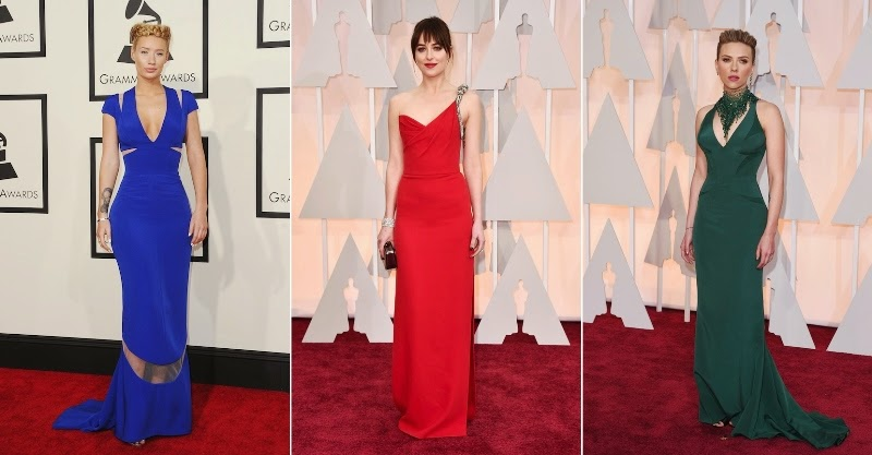 2015 Style Stars & Fashion Fails, Red Carpet's Best and Worst, 57th Annual Grammy Awards, 87th Oscars, Dakota Johnson,