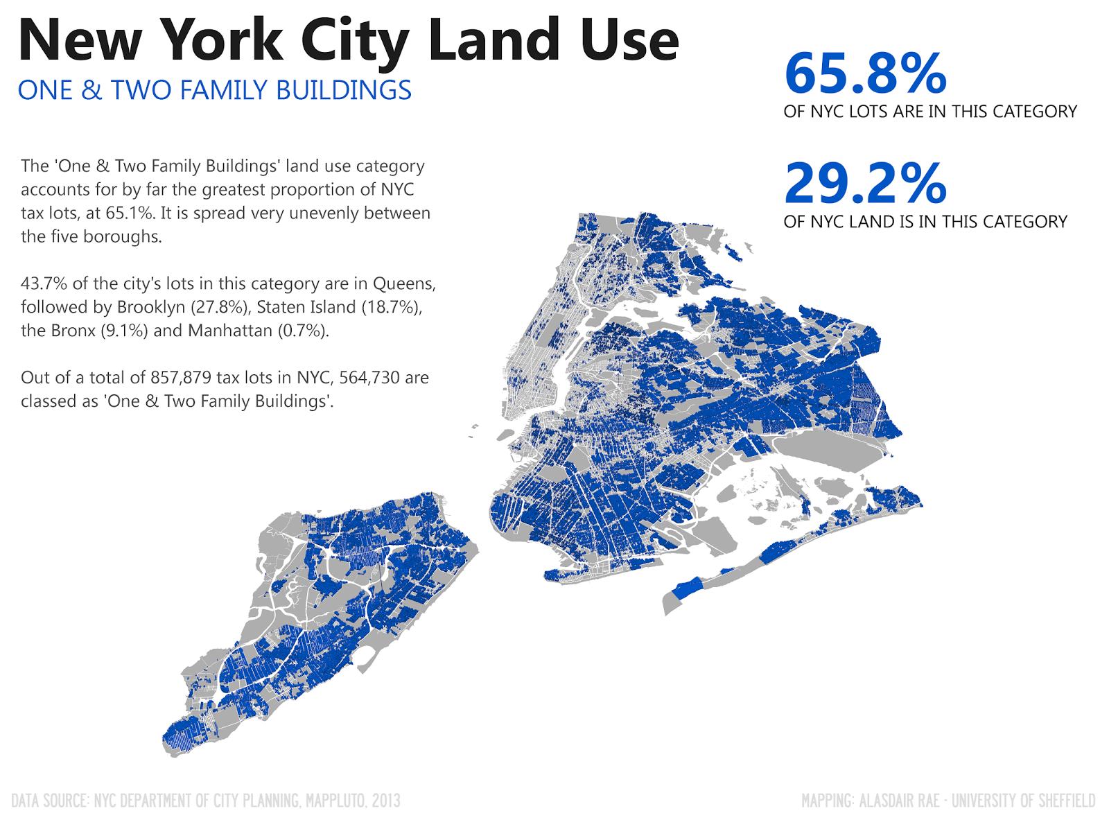 Under The Raedar The Geography Of New York City