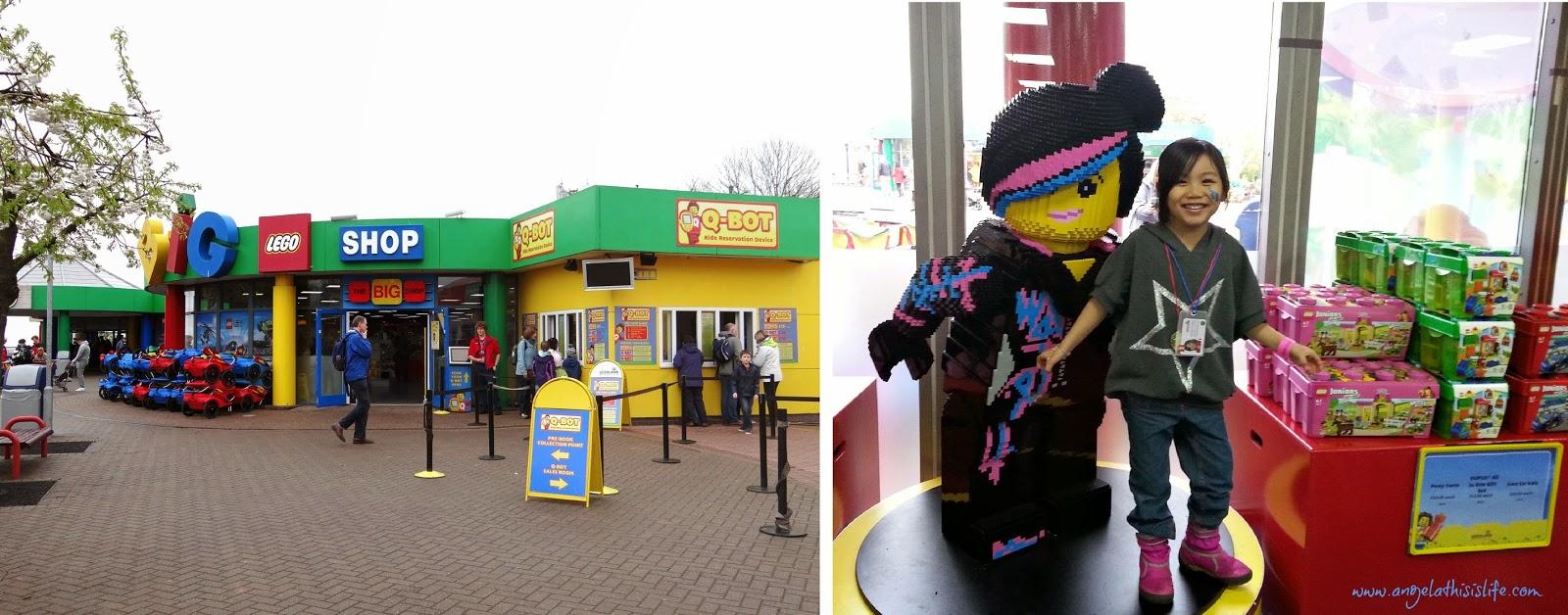 Legoland Windsor 2014, Legoland Windsor Easter, Legoland Windsor Shop