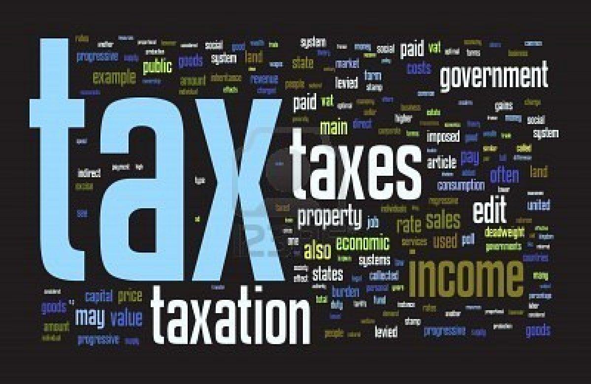 Essays on taxes