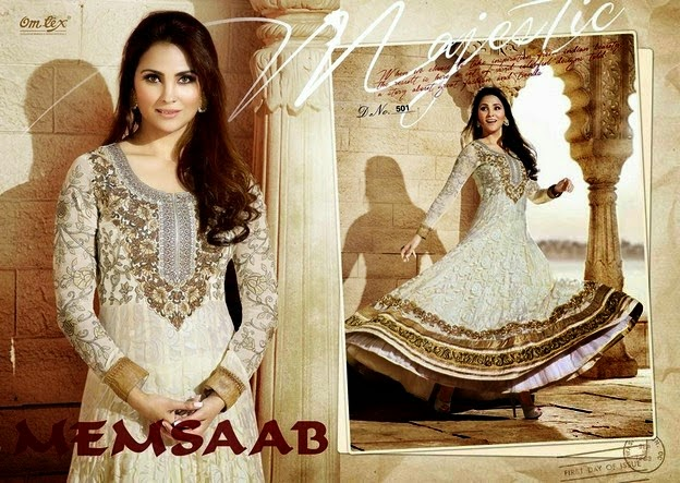 Lara Dutta Delightful Indian Churidar Frock