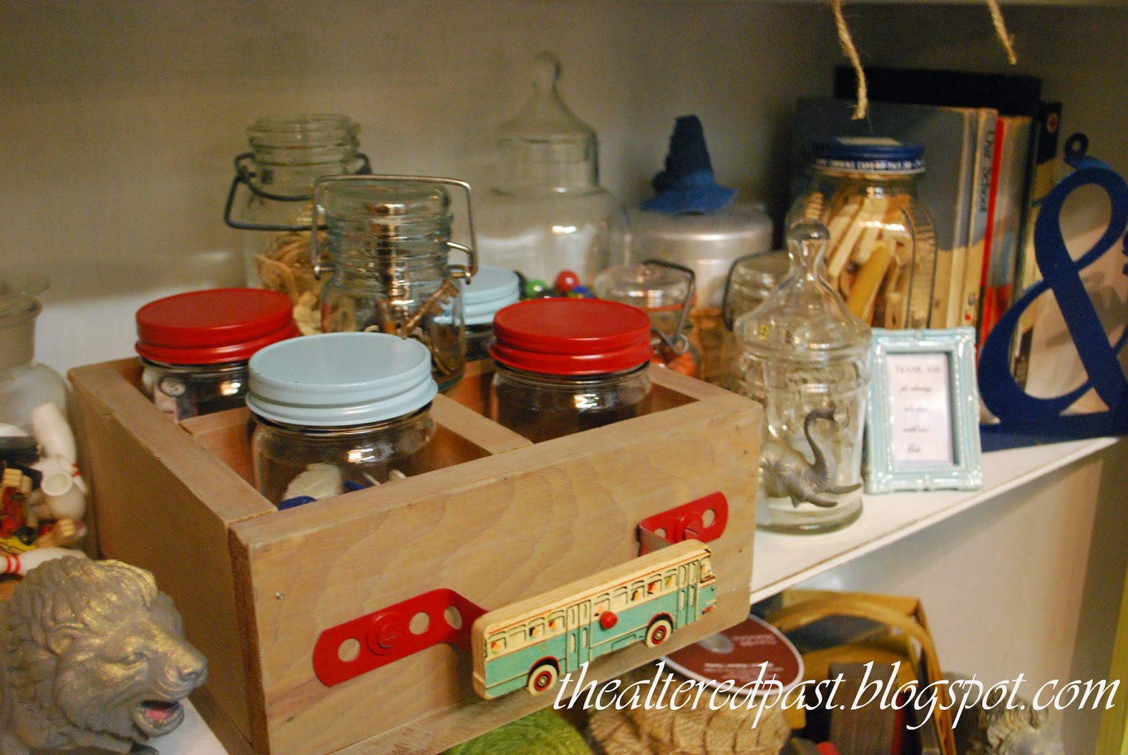 workroom studio, the altered past blog