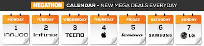 jumia mobile week calendar