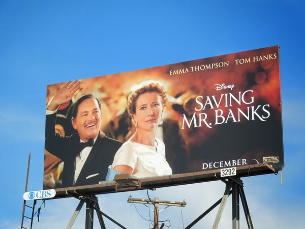 Saving Mr Banks movie billboard