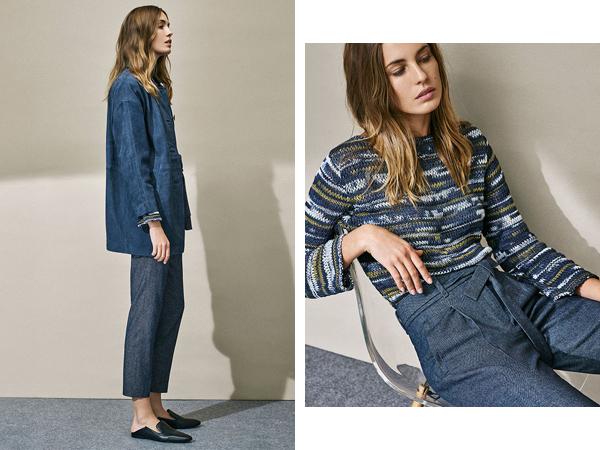 Massimo Dutti colección para mujer con nuevas propuestas en moda New Edit 2016 zapatos mules