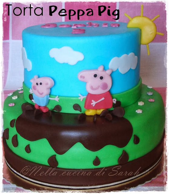 e alla fine arriva peppa! ~ torta peppa pig
