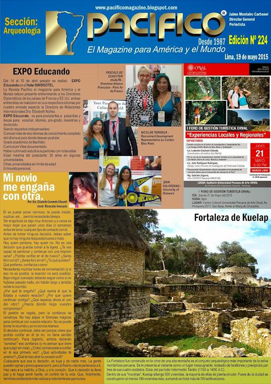 Revista Pacífico Nº 224 Arqueología