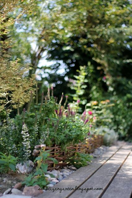 Ein Schweizer Garten: Cardinal Hume + Offener Garten