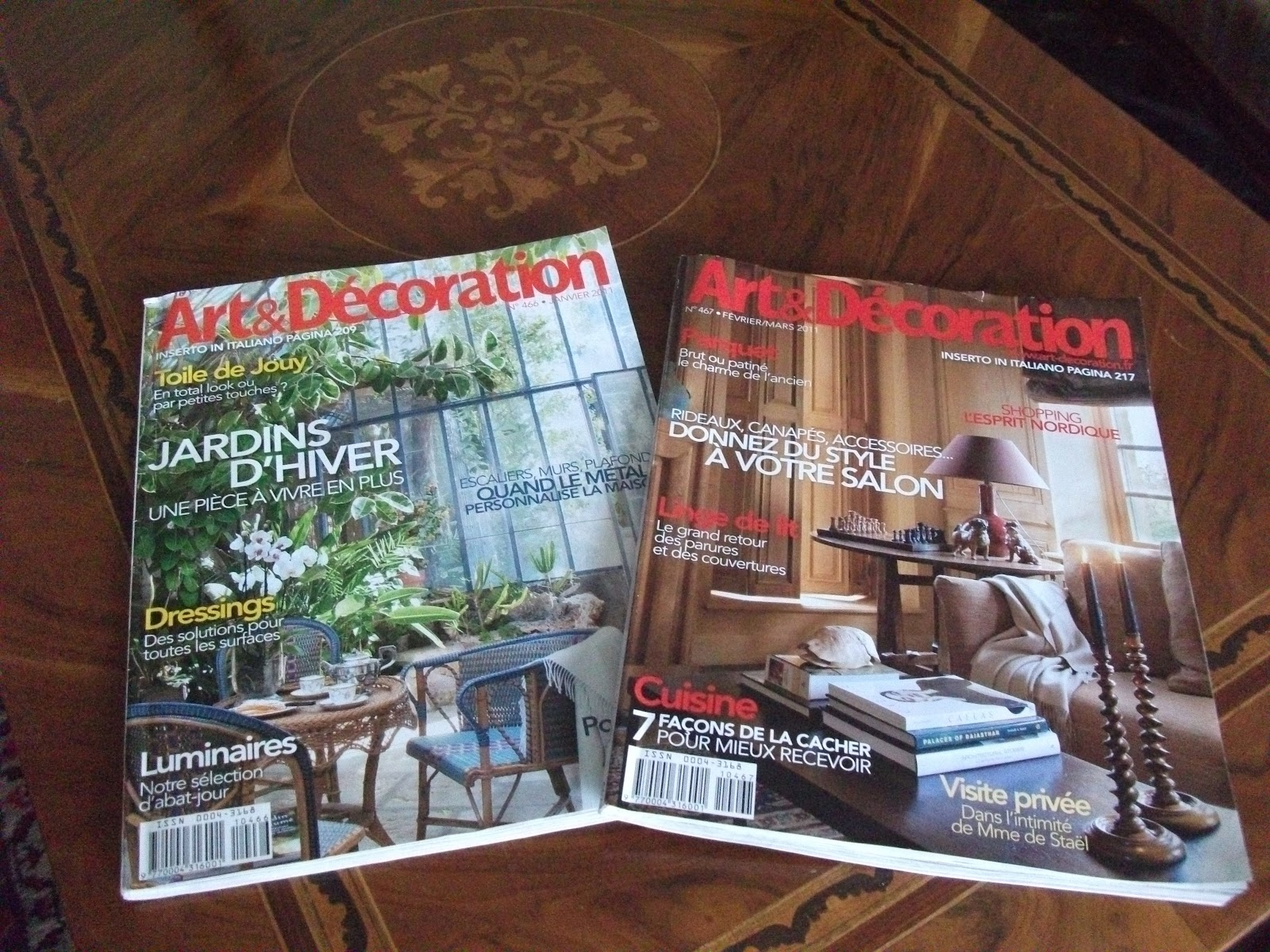 La brocante de blanche art et d coration for Art e decoration rivista
