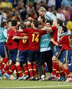 selección española de fútbol Eurocopa 2012 Final España Italia