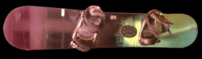 K2 Satellite Wide 158 cm Snowboard with K2 V9 Bindings