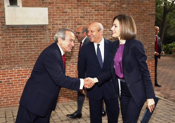 Queen Letizia  Attended The Annual Meeting Of Students Residence