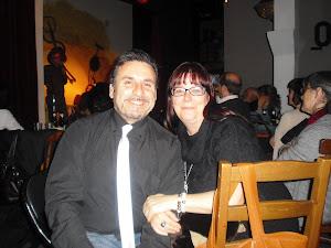 Con mi idolatrada Amelia Díaz Benlliure