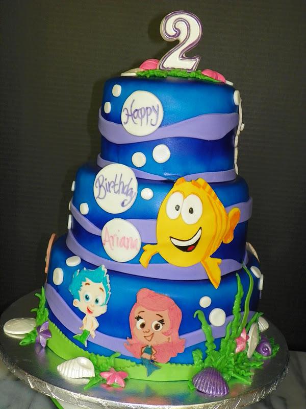 Plumeria Cake Studio Bubble Guppies Birthday Cake 2