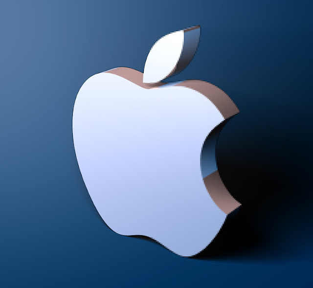 Pixelation on Apple logo