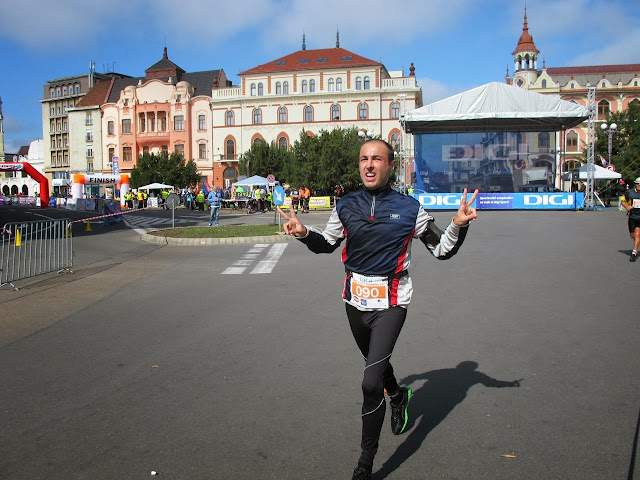 Oradea City Running Day 2013 pe traseu