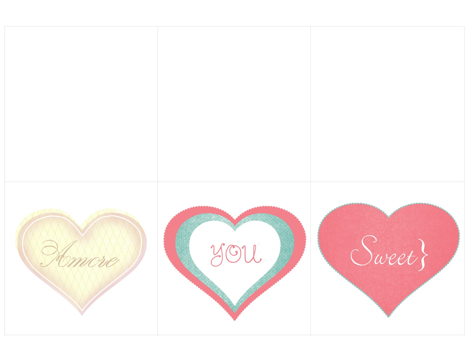 Displaying 15> Images For - Heart Cut Out Printable...