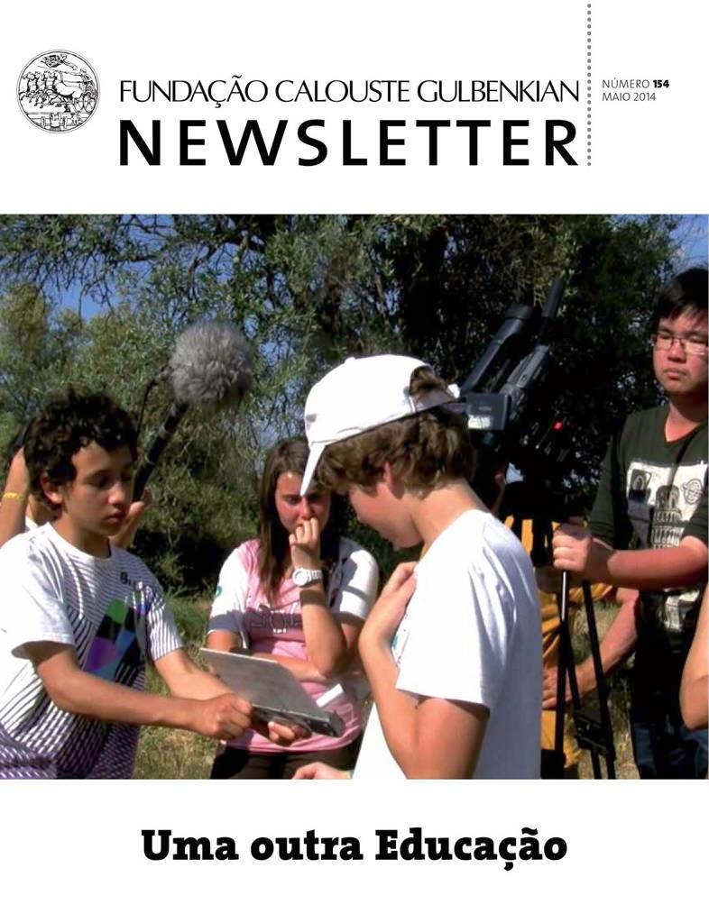 OLHAR À VOLTA em destaque na Newsletter da Fundação Gulbenkian