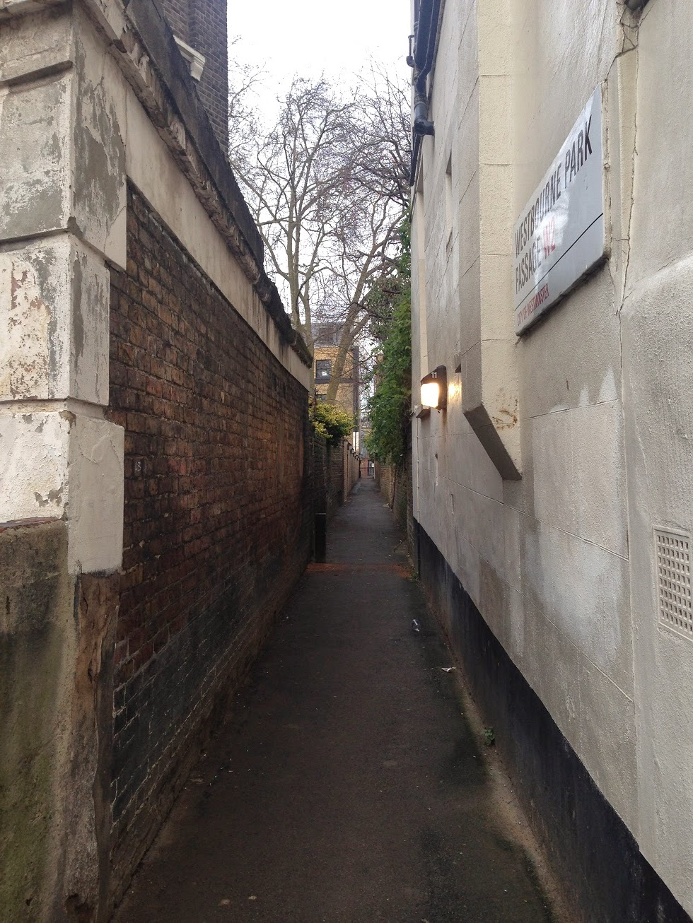 Westbourne Park Passage, London W2