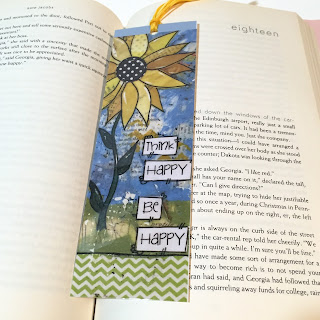 reading bookmark, planner bookmark