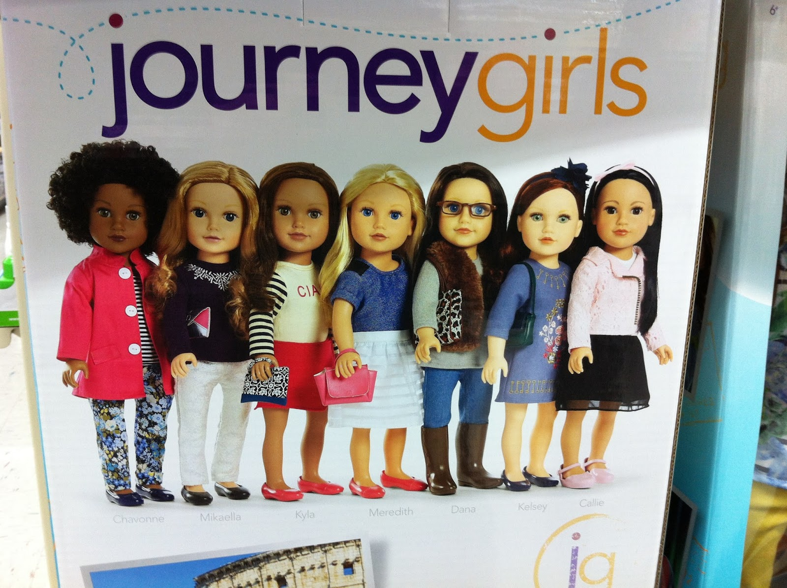 Toys R Us Journey Girls : A little doll will do it ..: new outfits for journey girls