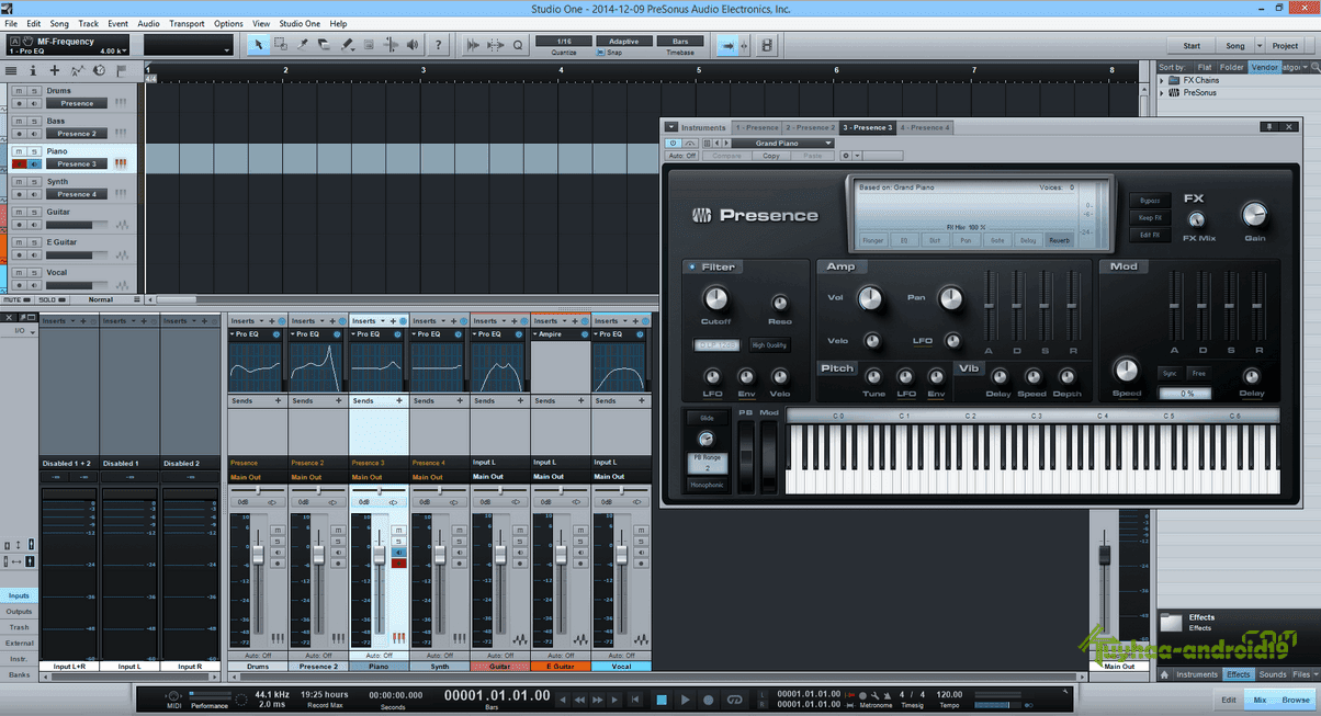 PreSonus Studio One Professional 2.6.5.30360